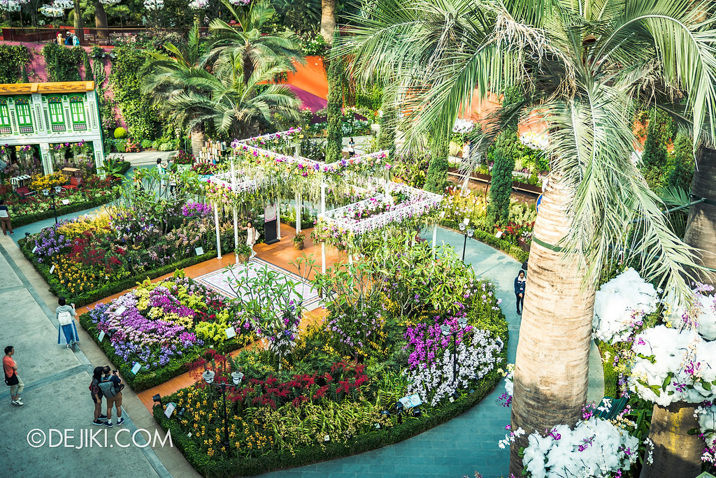 Gardens by the Bay - Orchid Extravaganza 2018 / Overview of Flower Field