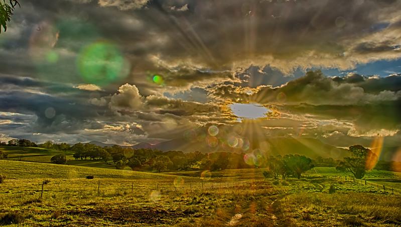Sun flares