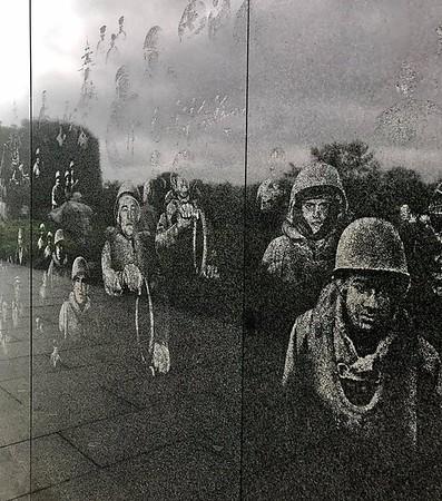 Korean, Lincoln, Vietnam Memorials Oct 2017