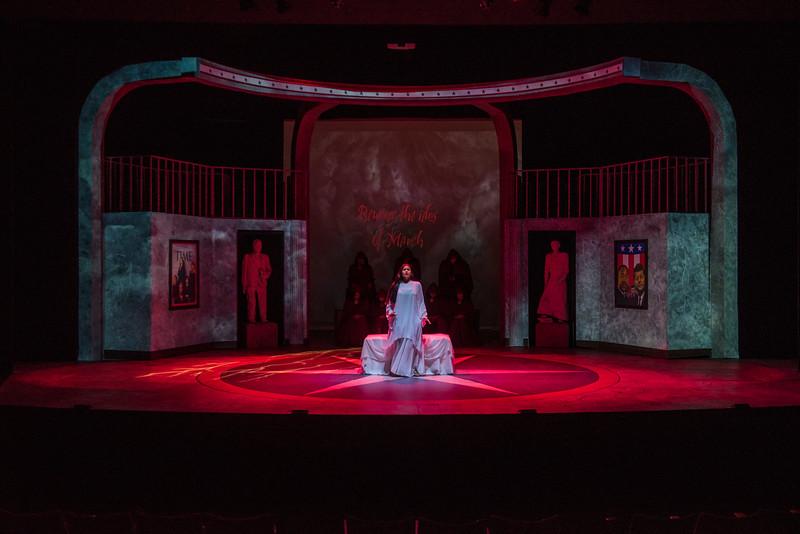 Julius Caesar dress rehearsal