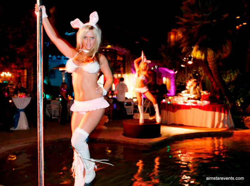 Playboy Mansion Themed Party