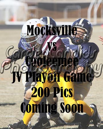 Mocksville-Cooleemee JV Playoff Game 11-5-11