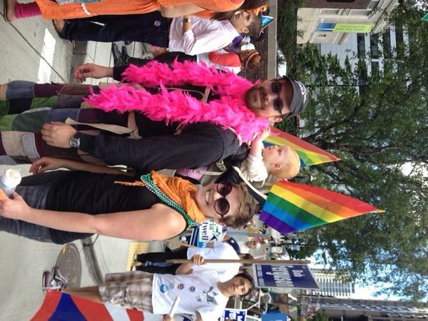 Becca and Family at Pride parade.jpg
