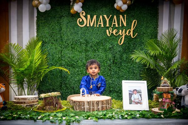 Smayan Veyd 1st Birthday