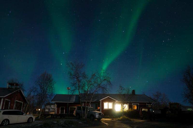 Northern Lights above Kilpissafarit