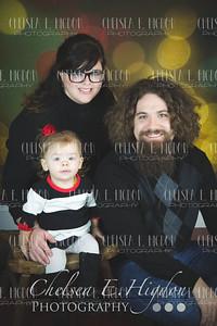 Ellie, Mommy, & Daddy
