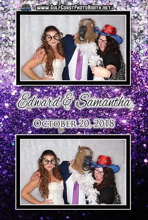 Samantha Cameron Wedding October 20, 2018