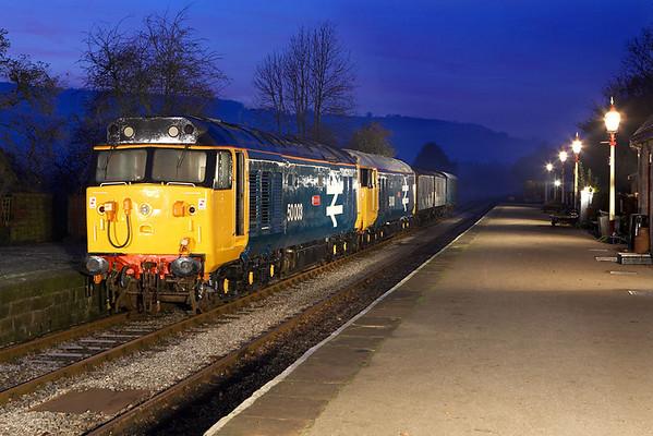 Peak Rail - Darley Dale (19/11/2005)