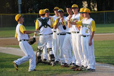 Varsity Baseball - Perry 2012