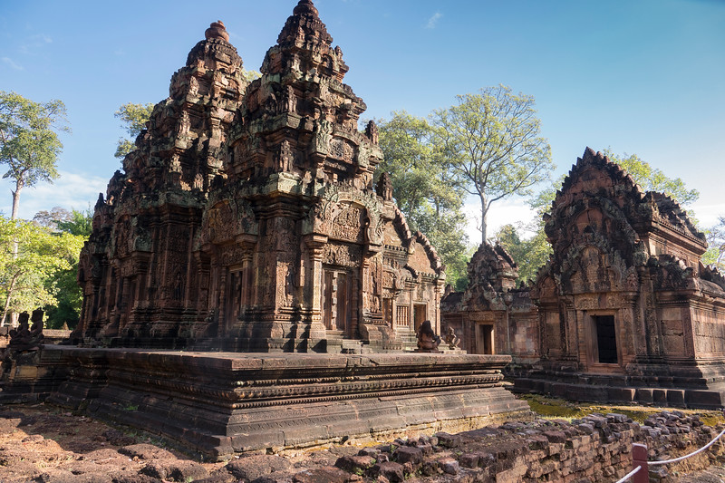 The Beautiful Temple of Banteay Srei