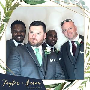 Taylor + Aaron Wedding