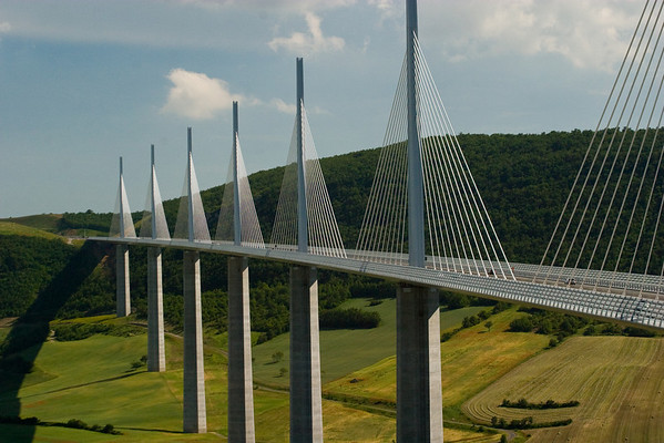 Nime and Viaduc De Millau