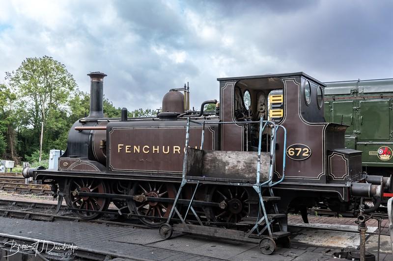 Class A1 Stroudley 'Terrier' 0-6-0T, FENCHURCH