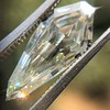 2.59ct Shield Shape Diamond, GIA L SI1 1