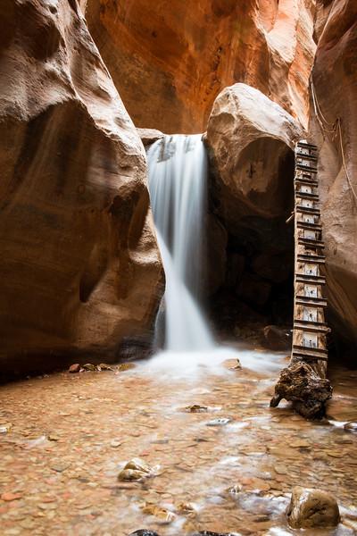 Kolob Falls - Just outside of Zion