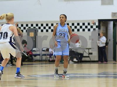 Clarksburg @ Urbana JV Girls Basketball 2015