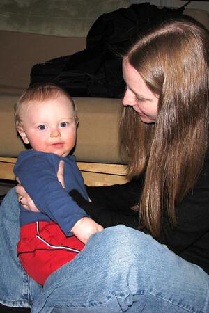 Babysitting Eli