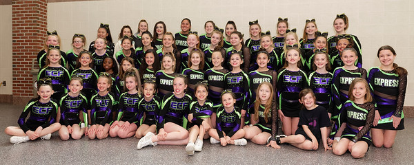 2018 Express Cheer Force