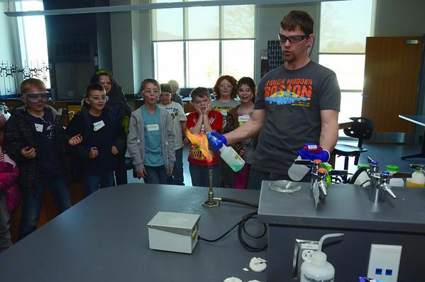 Third graders visit MCLA-120413