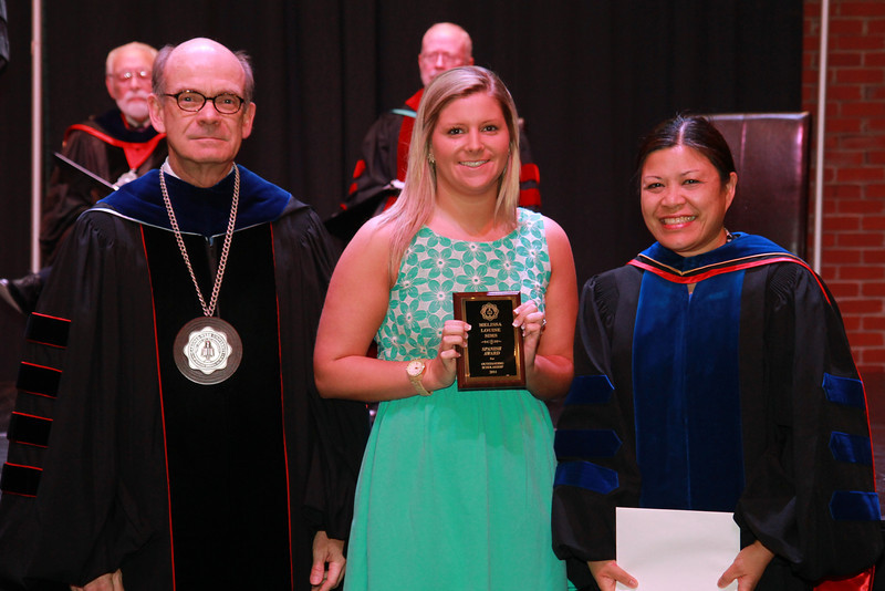 59th Academic Awards Day; Spring 2014. Spanish Award: Melissa Louise Sims