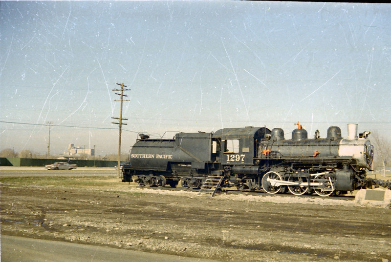SP 0-6-0 1297, Ogden. (Vic Oberhansley Photo)
