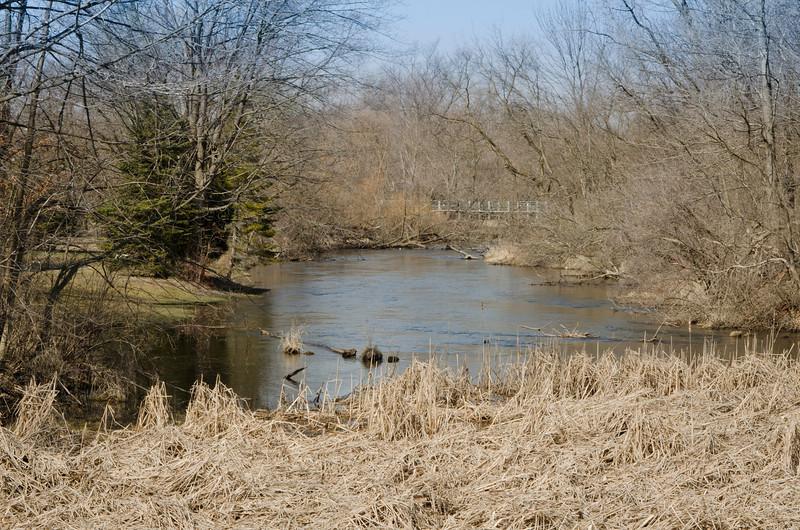 Kalamazoo River in Homer, MI