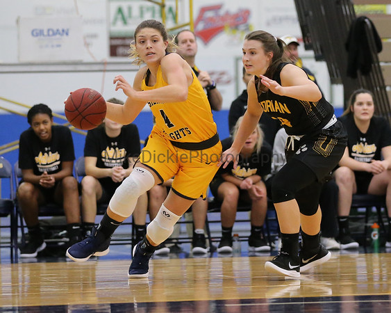 Siena Heights vs Adrian College women's basketball