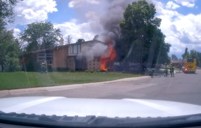 Mineral Avenue House Fire