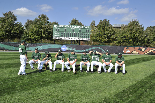 BABSON BASEBALL TEAM PHOTOS  10.5.2012