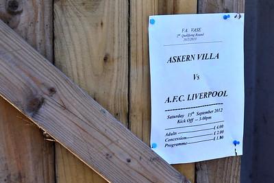 Askern Villa (a) W 3-1