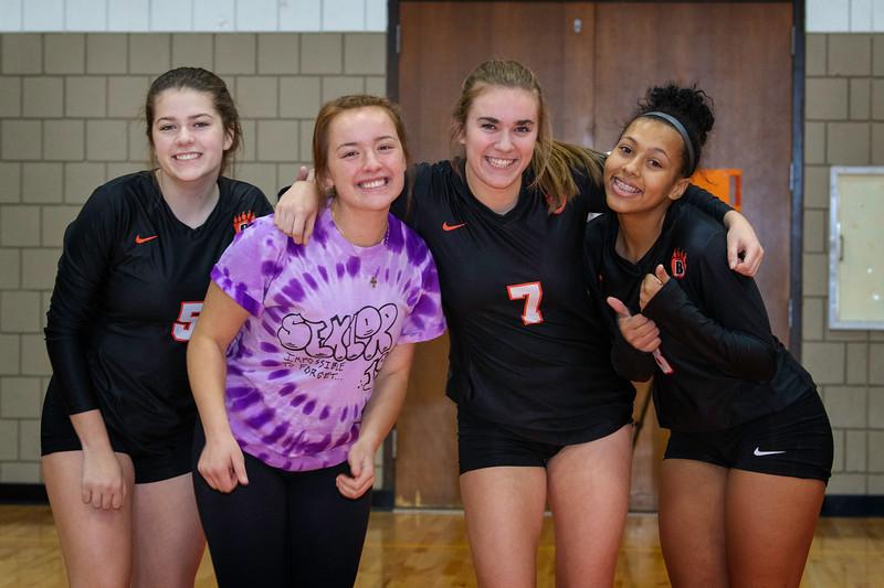 WBL Volleyball -V- CDH Senior night 2018