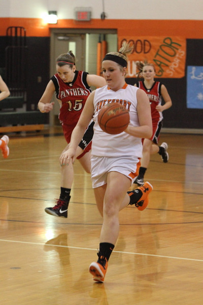 12/27/2012 Lady Hubbers vrs Lady Panthers