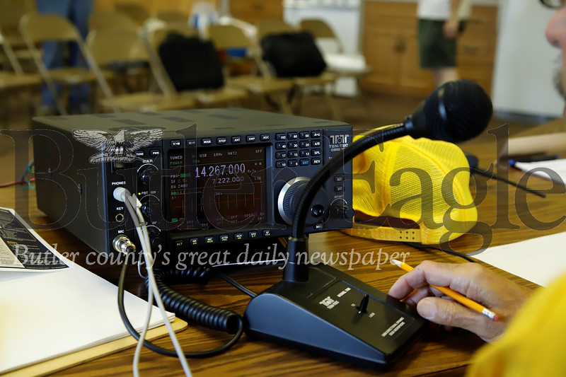 Ham radio. Seb Foltz/Butler Eagle