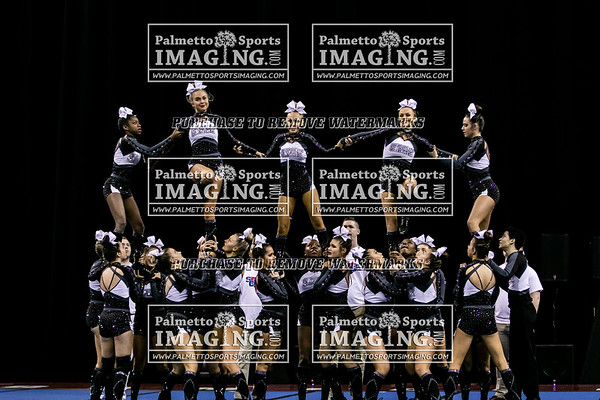 Gray Collegiate-2019 State Cheerleading Championship