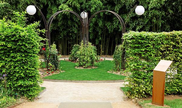 """2009 - Jardins de couleur - Festival des Jardins de Chaumont - Jardin """"Beauty Garden"""""""