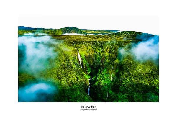 Hi'ilawe Fall, Hawaii