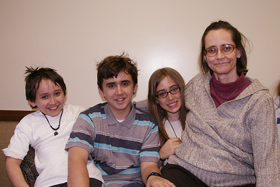 Jeani and family December 2007
