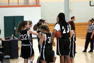 Middle School Girls Basketball season 2019