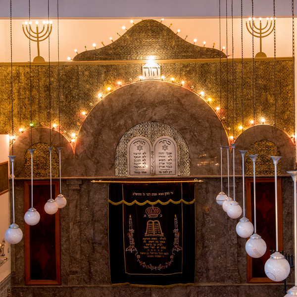 Al Azmeh Synagogue In Marrakech, Morocco