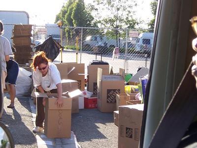 Katrina Donation Drive - 9/10/05
