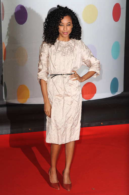 . Corinne Bailey Rae attends the Brit Awards 2013 at the 02 Arena on February 20, 2013 in London, England.  (Photo by Eamonn McCormack/Getty Images)
