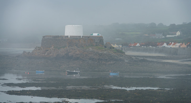 Mist, Portelet, Fort Grey, Guernsey