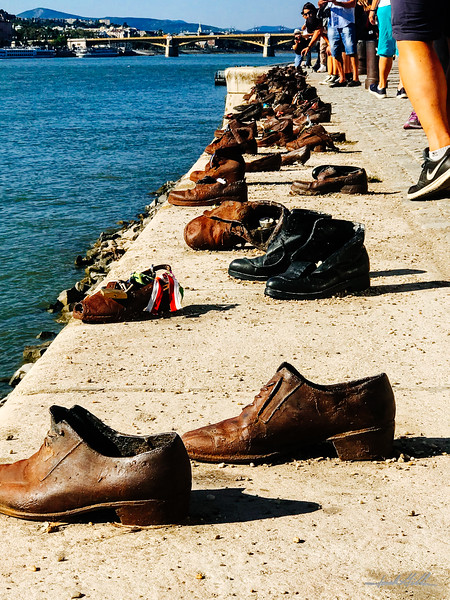 Shoes on the Danube, River Memorial