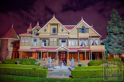 A.J. Barrera at The Winchester Mystery House