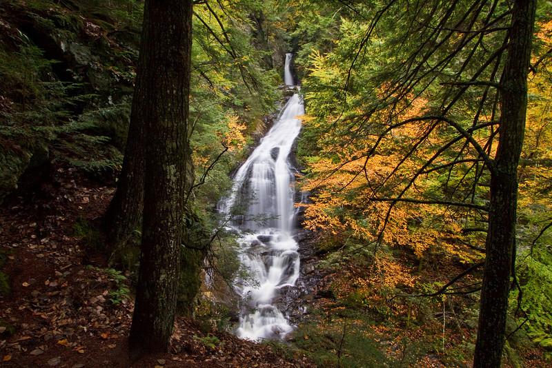 Moss Glen Falls near Stowe (the 'other' Moss Glen Falls)
