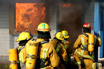 Fire Department's Training Burn