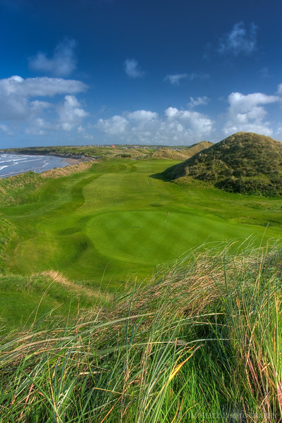 17th hole at Ballybunion Old Course.