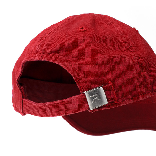 Outdoor Apparel - Organ Mountain Outfitters - Hat - Zia Sun Symbol Dad Cap Red Back.jpg