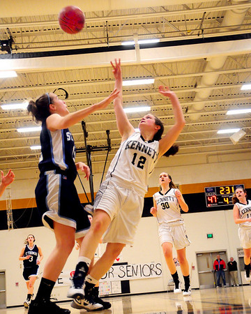 Kennett High School / St. Thomas Aquinas - NHIAA Girls Basketball Division 2 New Hampshire State Tournament game