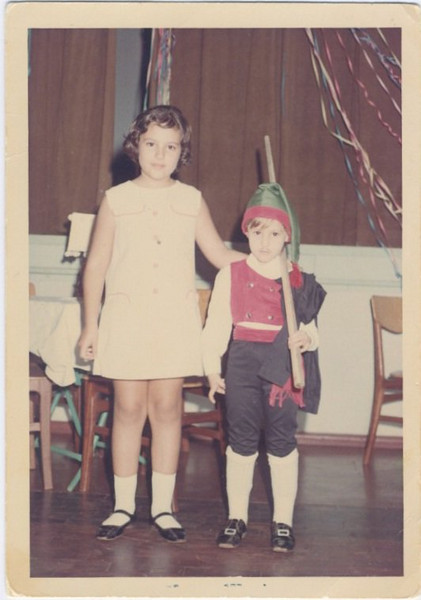Carnaval Andrada -1968 Teresa e Ruth Beato